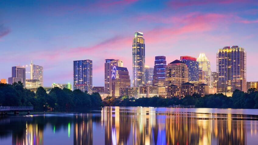 10966, Austin, Cities, Horizontal, States, Texas