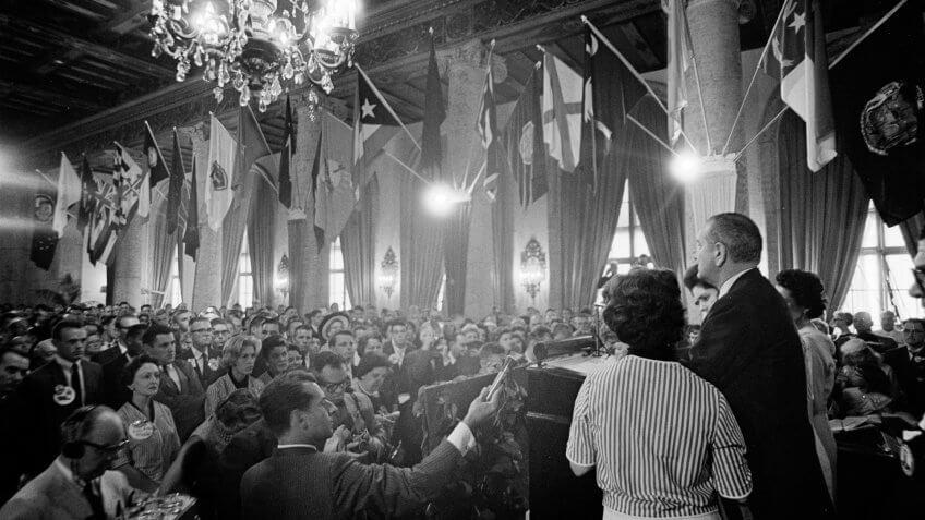 1960-Lyndon-B-Johnson-Democratic-Convention