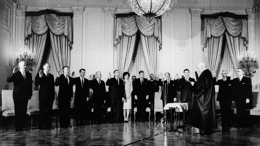 1961-President-John-F-Kennedy-Ceremony