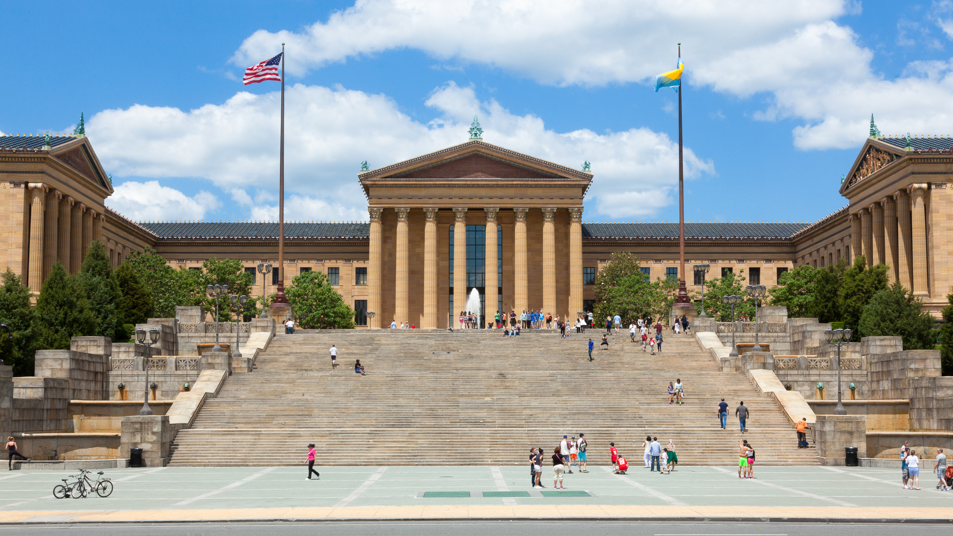 Philadelphia Museum of Art in Pennsylvania