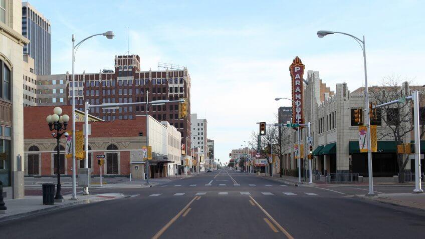Amarillo Texas street