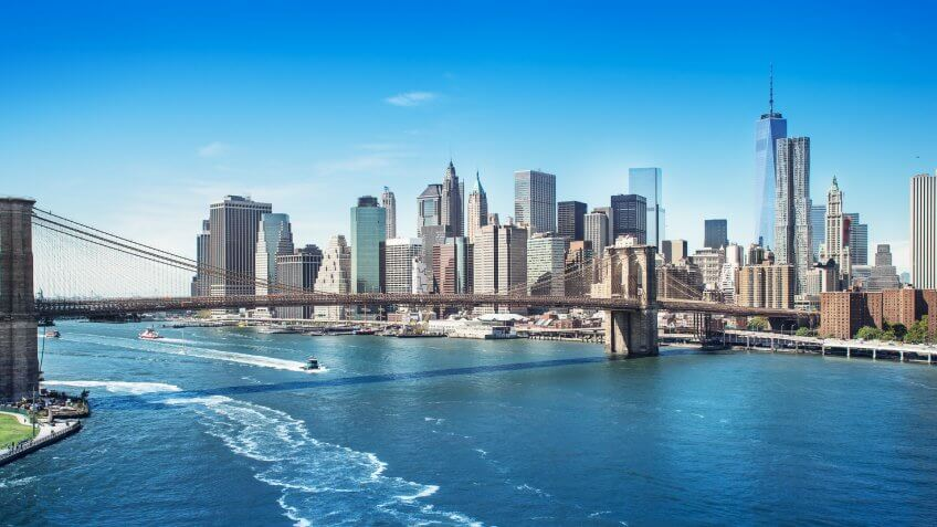 picture of manhattan new york.