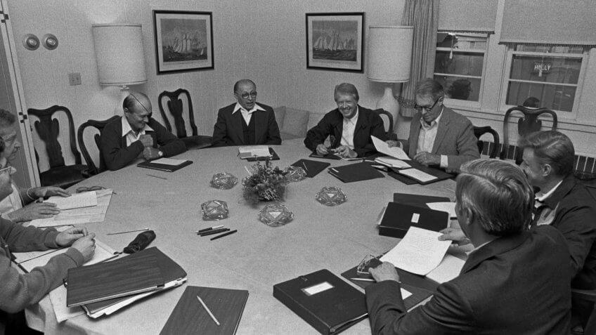 1978-Camp-David-President-Carter