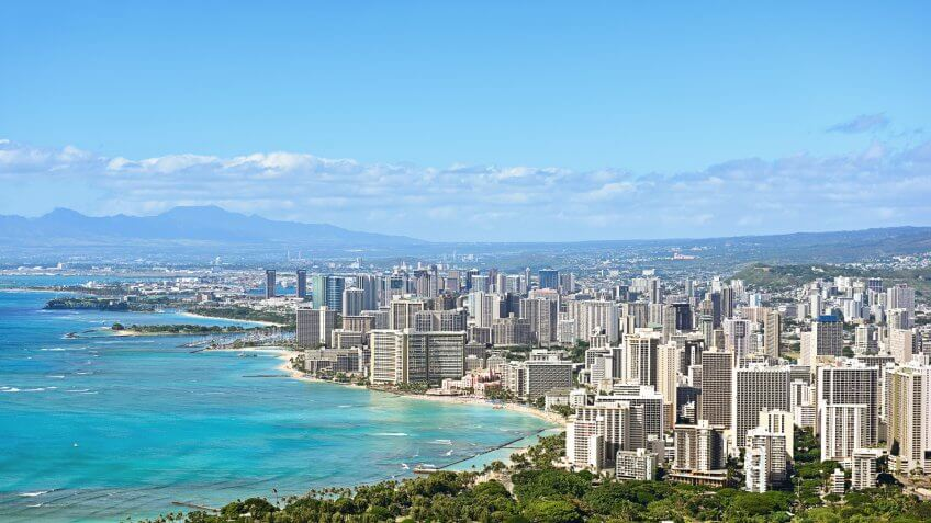 11716, Cities, Honolulu - Hawaii, Horizontal, US, USA, United States, america