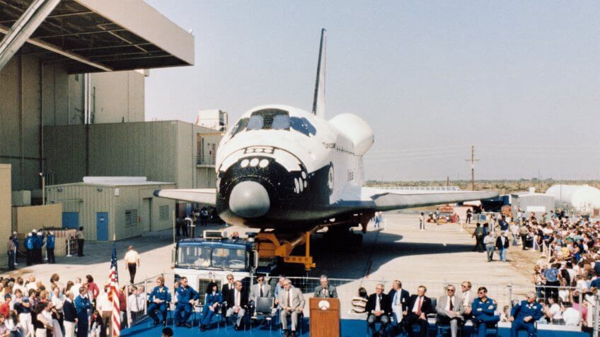 1983-Discovery-Rollout-Ceremony