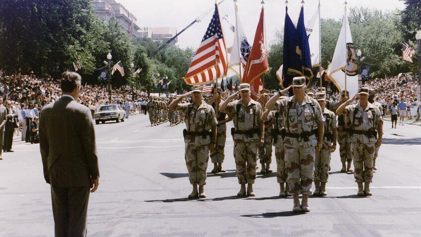 1991-President-Bush-Desert-Storm-Homecoming