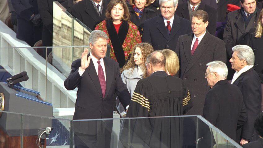 1997-President-Clinton-Inauguration-Ceremony