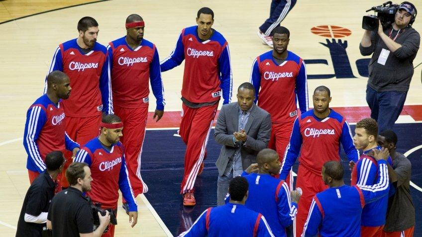Clippers at Wizards