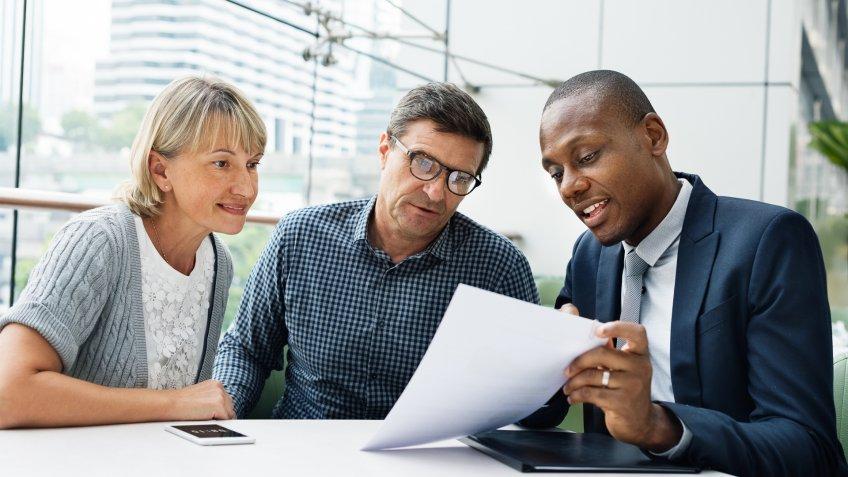 older couple financial advisor