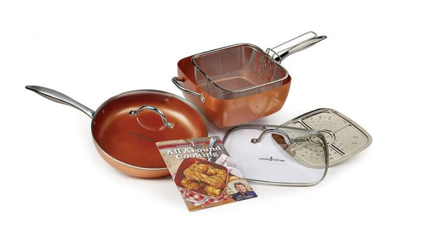 Copper Chef — 7 Piece Set