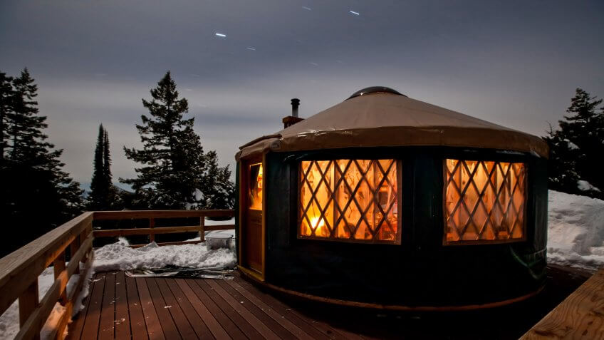 Idaho City Yurt.