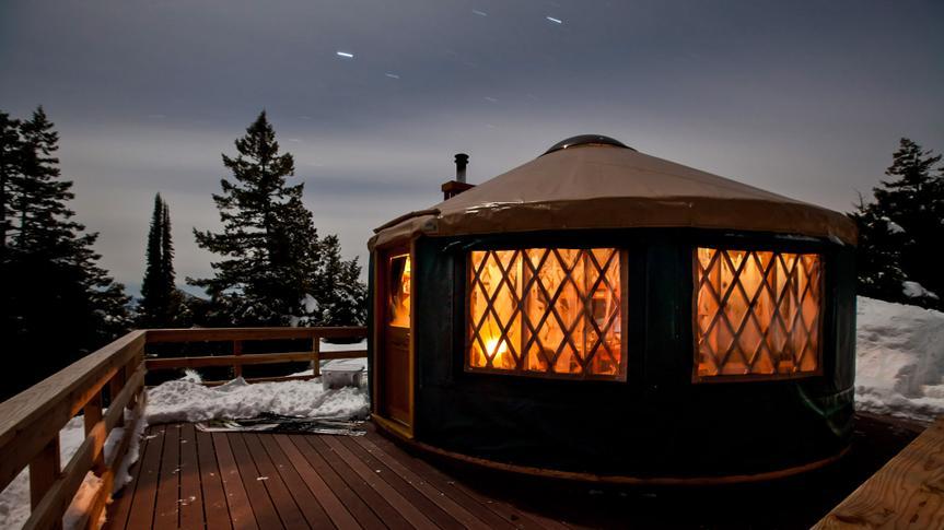 Idaho City Yurt.