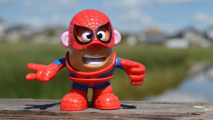 Mr. Potato Head; Spiderman