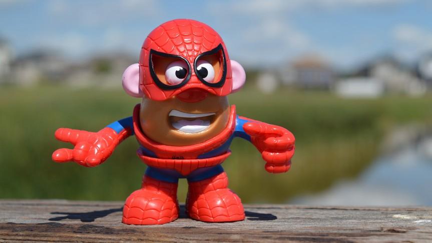 Mr. Potato Head; Spiderman