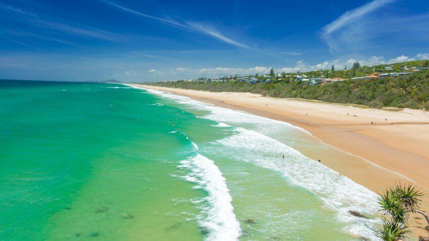 Beach Australia Sunshine Coast.