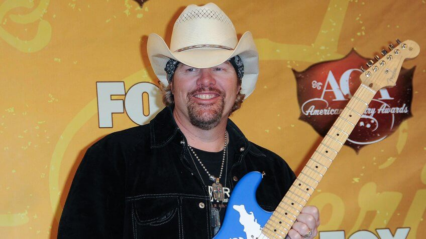 Toby Keith at the 2010 American Country Awards Press Room, MGM Grand Hotel, Las Vegas, NV.