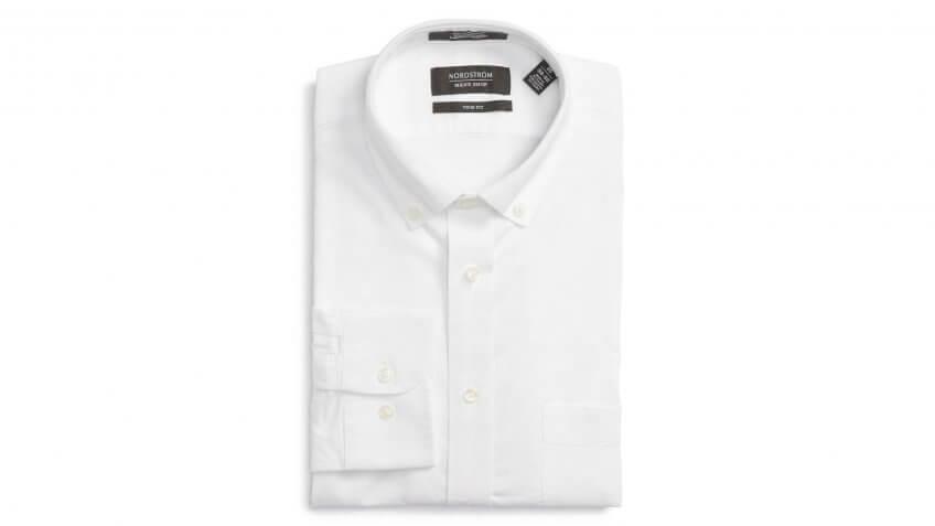 Nordstrom-White-Oxford-Shirt