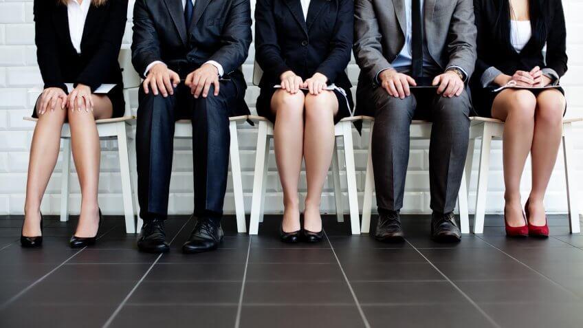 awaiting a job interview