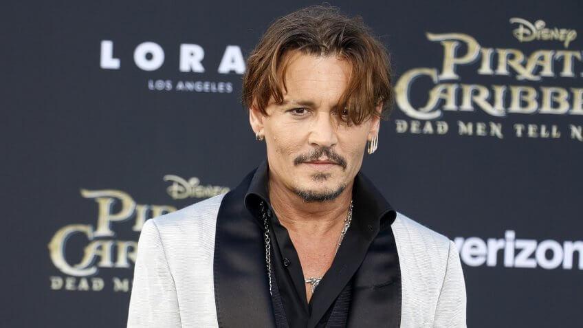 11717, Celebrities, Johnny Depp