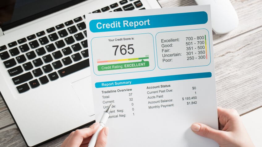 credit report, credit score