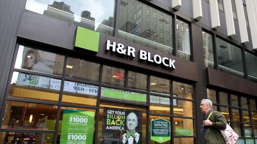 H&R Block tax service