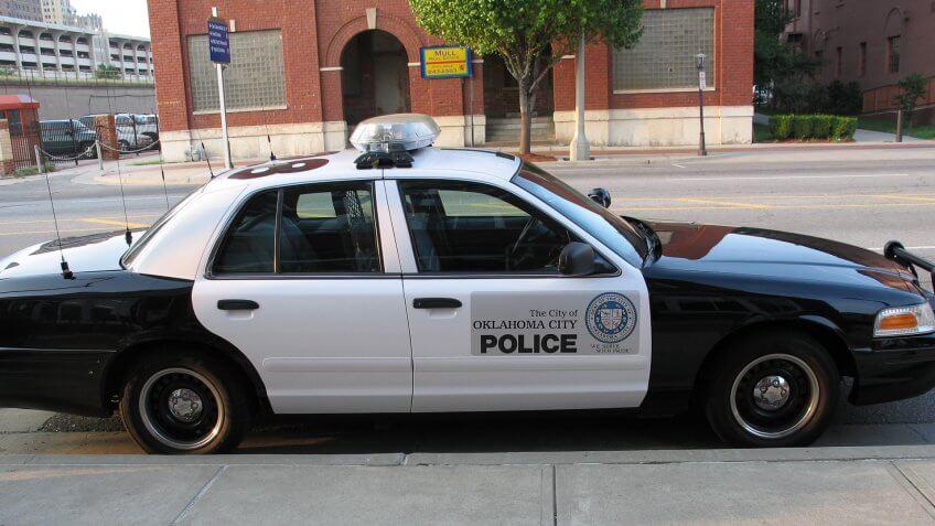 Oklahoma City police car 9/23/2005.