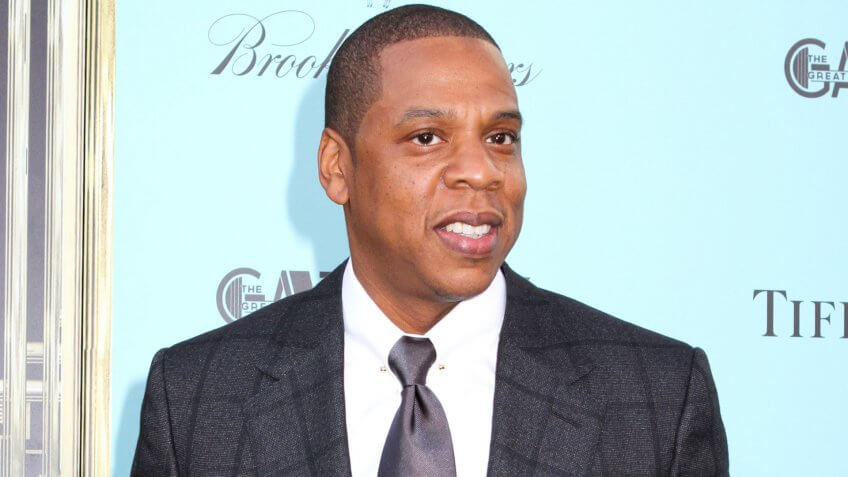 """NEW YORK - MAY 1: Jay Z attends the premiere of """"The Great Gatsby"""" at Avery Fisher Hall on May 1, 2013 in New York City."""