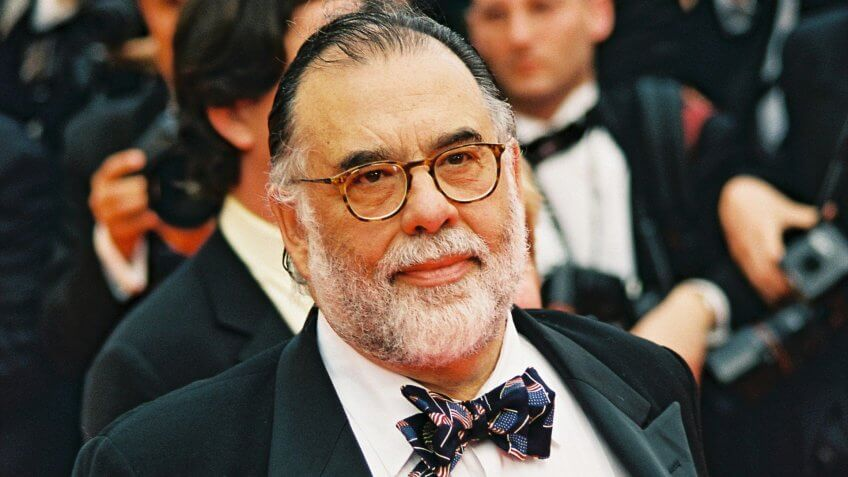CANNES, FRANCE - MAY 11: Francis Ford Coppola at the 'Apocalypse Now Redux' film screening at the 54th Cannes Film Festival on May 11, 2001 Cannes, France.