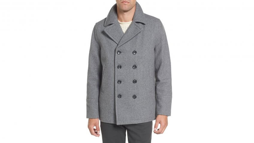 Michael-Kors-Wool-Blend-Double-Breasted-Peacoat