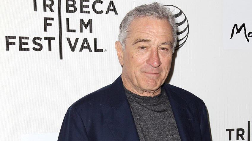 Robert De Niro'Play It Forward' documentary premiere, Tribeca Film Festival, New York, America - 16 Apr 2015.