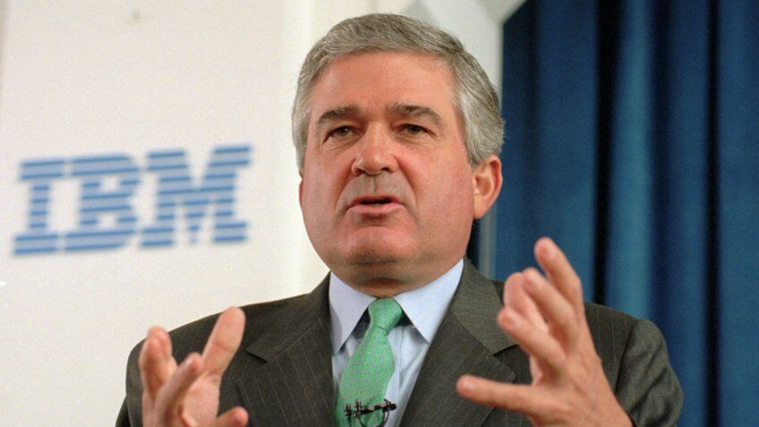 IBM Chairman and CEO Louis V.