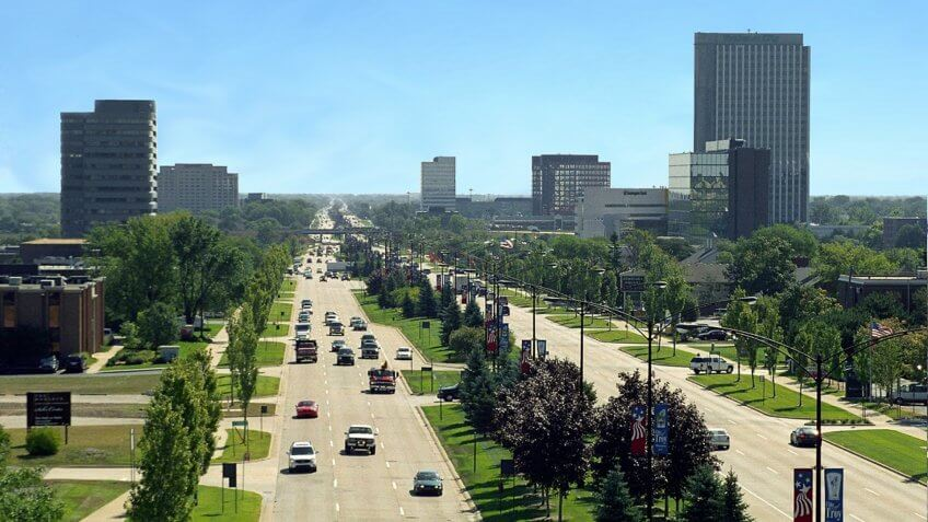 Michigan's Premier Address for Business, Retail, & Commerce.