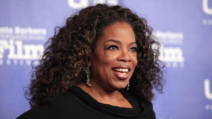 Oprah Winfrey smiling