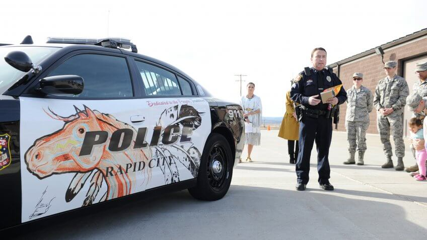 South-Dakota, police