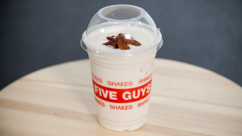 Fast Food, Five Guys, GOBankingRates.com, unique, weird