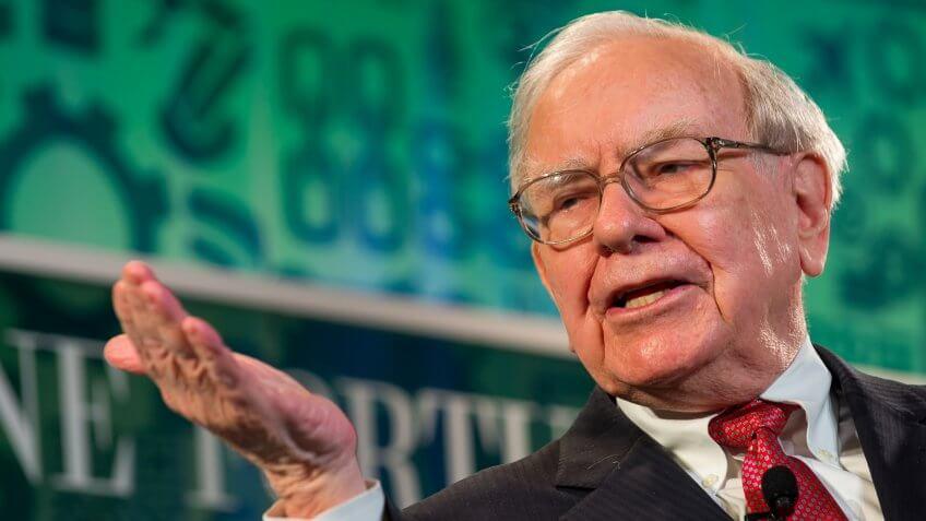 Warren Buffett talking at Fortune Most Powerful Women conference