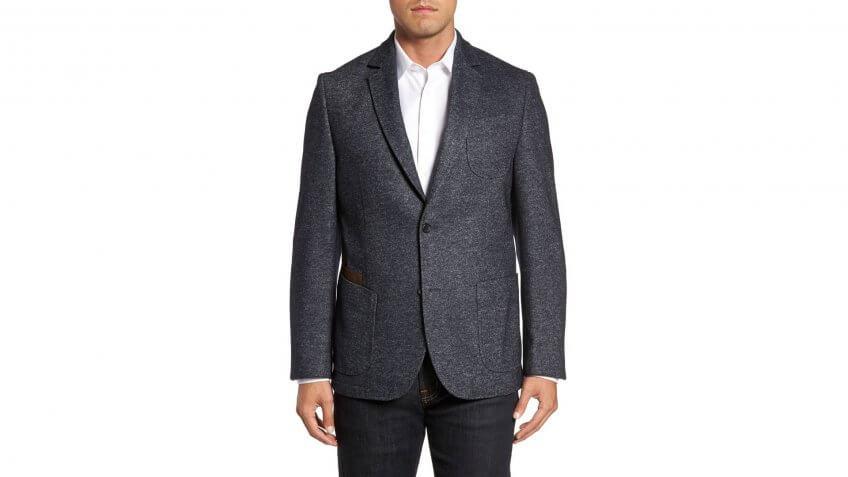 FLYNT-Classic-Fit-Suede-Trim-Jersey-Sport-Coat