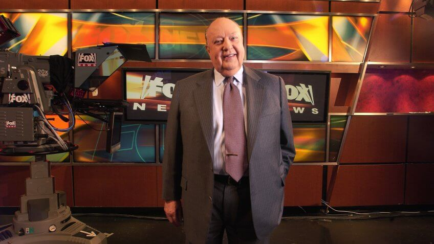 Roger Ailes Fox News CEO Roger Ailes poses at Fox News in New York.