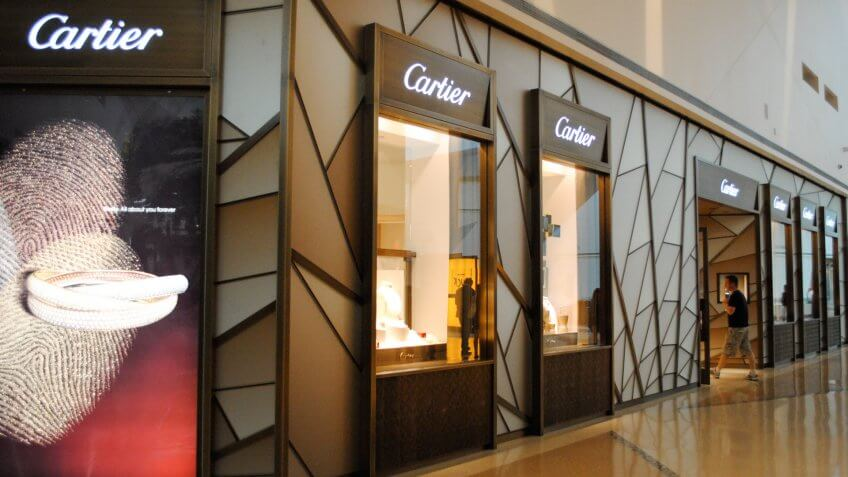 Cartier, brands, luxury, shopping, stores