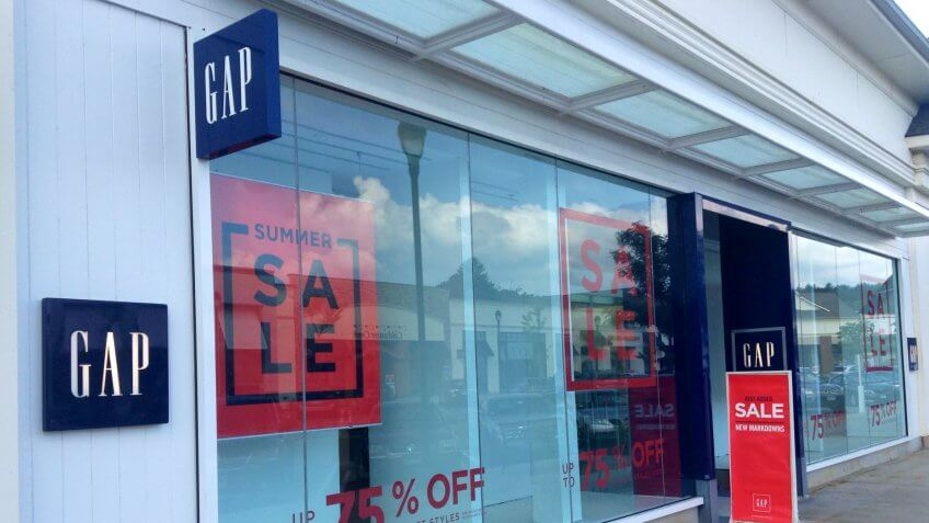 GAP, brands, luxury, shopping, stores