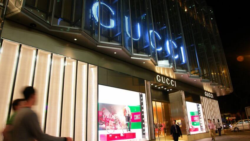 Gucci, brands, luxury, shopping, stores