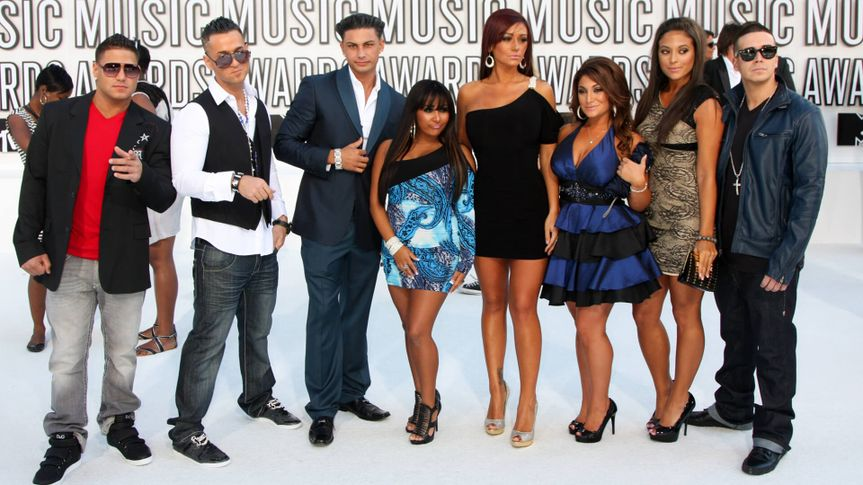 LOS ANGELES - SEP 12: Jersey Shore Cast arrives at the 2010 VMA Awards at Nokai LA LIve on September 12, 2010 in Los Angeles, CA.