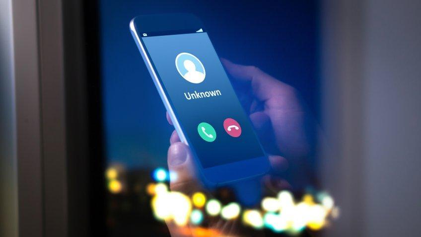 iphone, smartphone, unknown caller