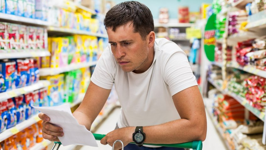 grocery shopping, shopping, shopping list