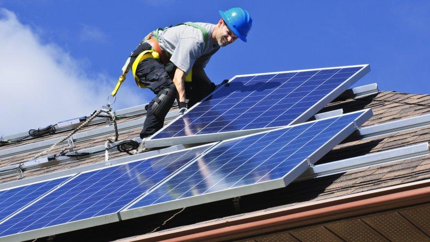solar panels, solar photovoltaic installer