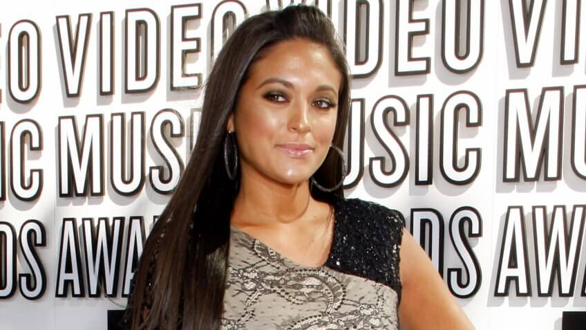 Sammi Giancola at the 2010 MTV Video Music Awards held at the Nokia Theatre L.