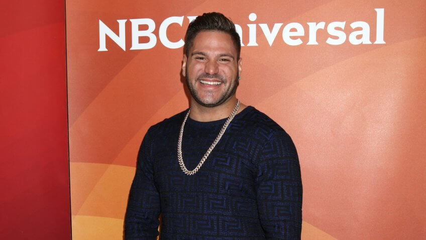 LOS ANGELES - MAR 20: Ronnie Magro-Ortiz at the NBCUniversal Summer Press Day at Beverly Hilton Hotel on March 20, 2017 in Beverly Hills, CA.
