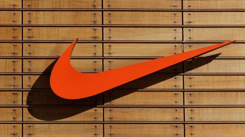 IZMIR,TURKEY - NOVEMBER 27: Exterior of a sporting goods store displaying Nike on November 27, 2013 in Izmir, Turkey.
