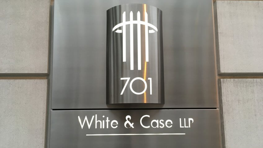 Plaque for White & Chase LLC.