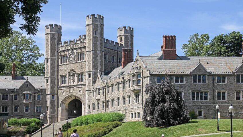 Princeton University in New Jersey